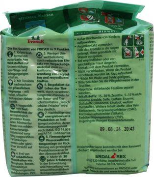 Frosch Color Waschpulver 18 Wäschen 1,35kg – Bild 4