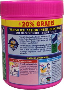 Vanish OXI Action Intelligent Plus Pulver 500g – Bild 2