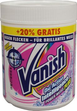 Vanish OXI Action Intelligent Plus Powerweiss Pulver 500g