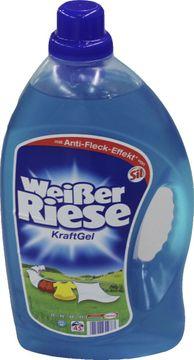 Weißer Riese Gel 45 Wäschen 3,375L – Bild 1