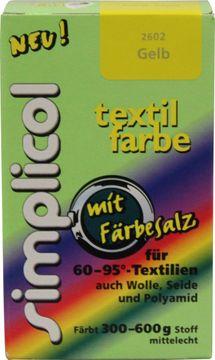 SIMPLICOL Textilfarbe Gelb 150g – Bild 1