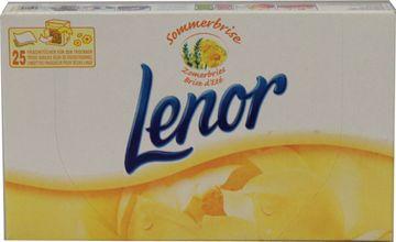 Lenor Trockner-Tücher Sommerfrische 25er Pack – Bild 1