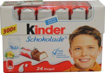 Ferrero Kinder Schokolade 300g – Bild 1