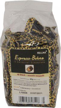 Hellma Espresso Bohnen Zartbitter 40 Stück – Bild 1