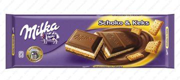 Milka Schoko + Keks 300g – Bild 1
