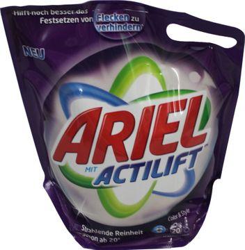 Ariel Color & Style Flüssig Nachfüllpack 18 Wäschen – Bild 1