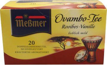 Messmer Rooibos Vanille 20 Beutel – Bild 1