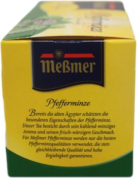 Messmer Pfefferminze 25 Beutel – Bild 2