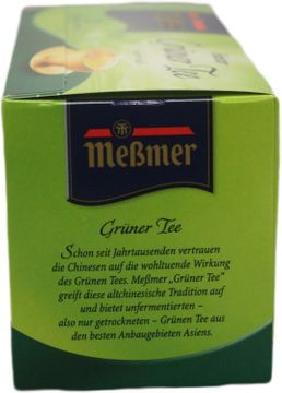 Messmer China Green Tee 25 Beutel – Bild 2