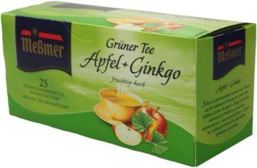 Messmer Grüner Tee Apfel Ginko 25 Beutel – Bild 1