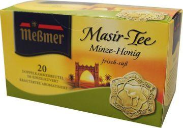 Messmer Masir Tee Honig Krauseminze 20 Beutel – Bild 1