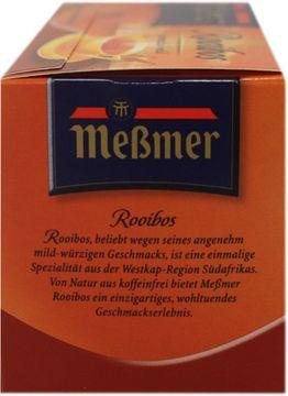 Messmer Rooibos Pur 20 Beutel – Bild 2
