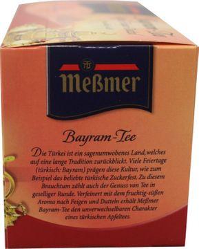 Messmer Bayram Apfel Feige Dattel 20 Beutel – Bild 2