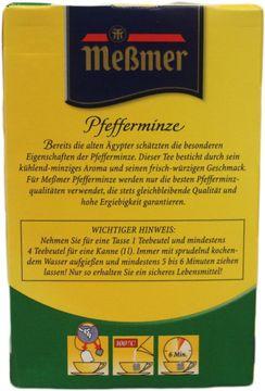 Messmer Tee Pfefferminze 50 Beutel – Bild 2