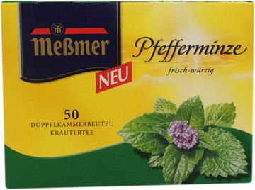 Messmer Tee Pfefferminze 50 Beutel – Bild 1