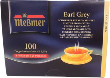 Messmer Earl Grey 100 Beutel – Bild 1