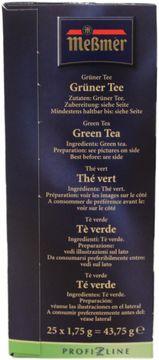 Messmer Profi Line Grüner Tee 25 Beutel – Bild 3