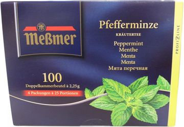Messmer Pfefferminz Tee 100 Beutel