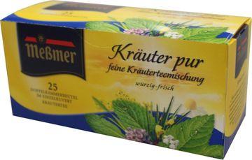 Messmer Kräuter Pur 25 Beutel – Bild 1