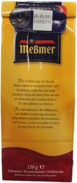 Messmer Schwarzer Tee Wildkirsche 150g – Bild 3