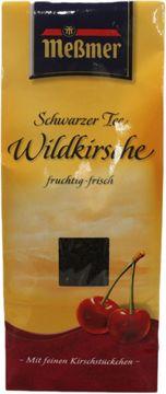 Messmer Schwarzer Tee Wildkirsche 150g – Bild 1