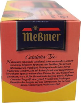 Messmer Cataluna Tee 20 Beutel – Bild 2