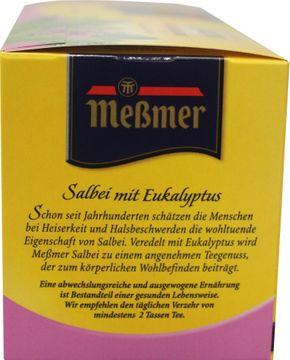 Messmer Salbei Tee 25 Beutel – Bild 2