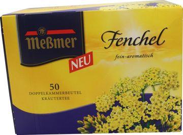 Messmer Fenchel Tee 50 Beutel – Bild 1