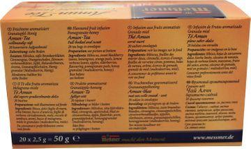 Messmer Amun Tee Granatapfel Honig 20 Beutel – Bild 3