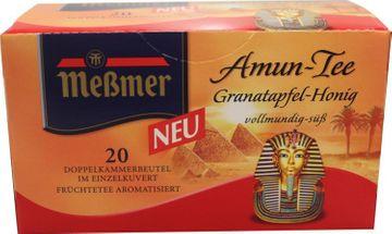 Messmer Amun Tee Granatapfel Honig 20 Beutel