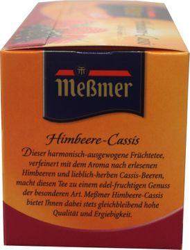 Messmer Tee Himbeere-Cassis 20 Beutel – Bild 2