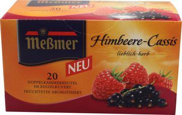 Messmer Tee Himbeere-Cassis 20 Beutel