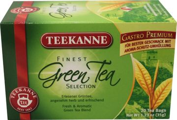 Teekanne Finest Green Tea Selection 20 Beutel – Bild 1