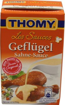 Thomy Les Sauces Gefügel Sahne Sauce 250ml