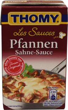 Thomy Les Sauces Pfannen Sahne 250ml