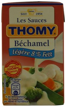 Thomy Les Sauces Bechamel Legere 250ml – Bild 1