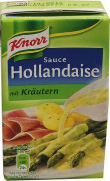 Knorr Sauce Hollandaise mit Kräutern 250ml – Bild 1