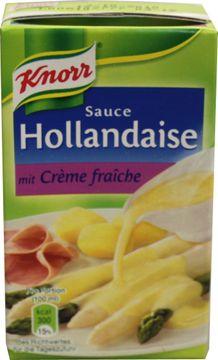 Knorr Sauce Hollandaise Creme Fraiche 250ml – Bild 1