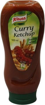Knorr Curry Ketchup 500ml – Bild 1