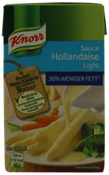 Knorr Sauce Hollandaise Light 250ml – Bild 3