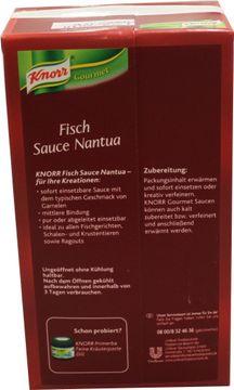 Knorr Fisch Sauce Nantua 1L – Bild 2