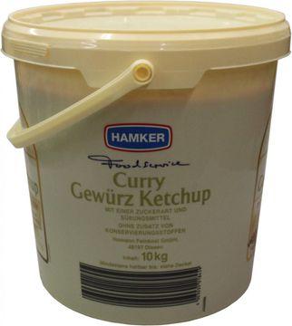 Hamker Curry Gewürz Ketchup 10kg – Bild 3