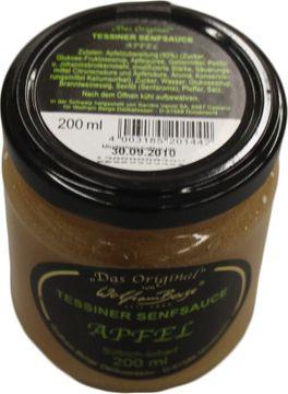 Tessiner Apfel Senfsauce 200ml – Bild 2
