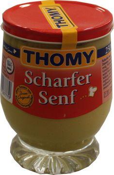 Thomy Scharfer Senf 250ml – Bild 1