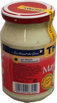 Thomy Salatmayonnaise 50% 250ml – Bild 3