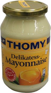 Thomy Delikatess Mayonnaise 80% 500ml – Bild 1