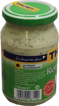 Thomy Remoulade 77% 250ml – Bild 2