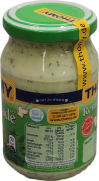 Thomy Remoulade 77% 250ml – Bild 3