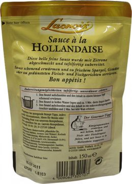 Lacroix Sauce a la Hollandaise 150ml – Bild 2
