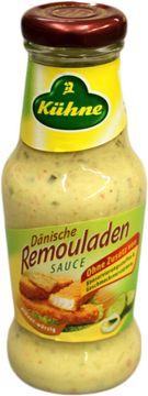 Kühne Dänische Sauce mit Gemüsestückchen 250ml